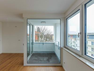 Burgkstraße 1 in Dresden – ein überdachter Balkon