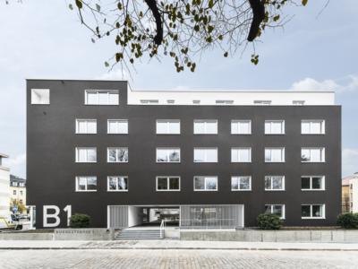Burgkstraße 1 in Dresden – die Frontansicht