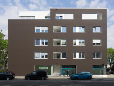 Burgkstraße 1 in Dresden – Blick auf eine Hausseite des Neubaus