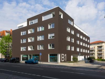 Burgkstraße 1 in Dresden – Eckansicht des Feng-Shui-Hauses