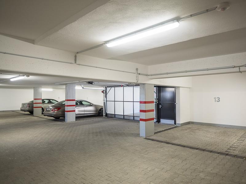 Chausseehausstraße 1 in Dresden – die Garage für die Mieter