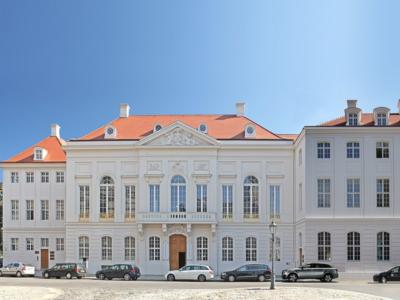 Kurländer Palais – die fertiggestellte Fassade