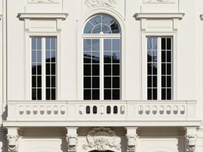 Kurländer Palais – der sanierte Balkon