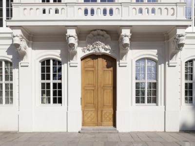 Kurländer Palais – der Haupteingang