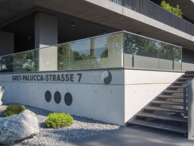 Gret-Palucca-Straße 7 Dresden – Treppe zum Eingangsbereich